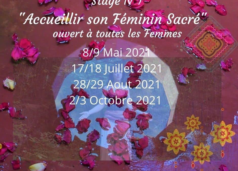 Stage N°1 «Accueillir son Féminin Sacré»