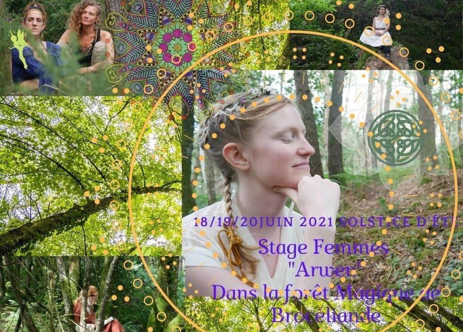 Stage «Arwen» Solstice d'été à Brocéliande