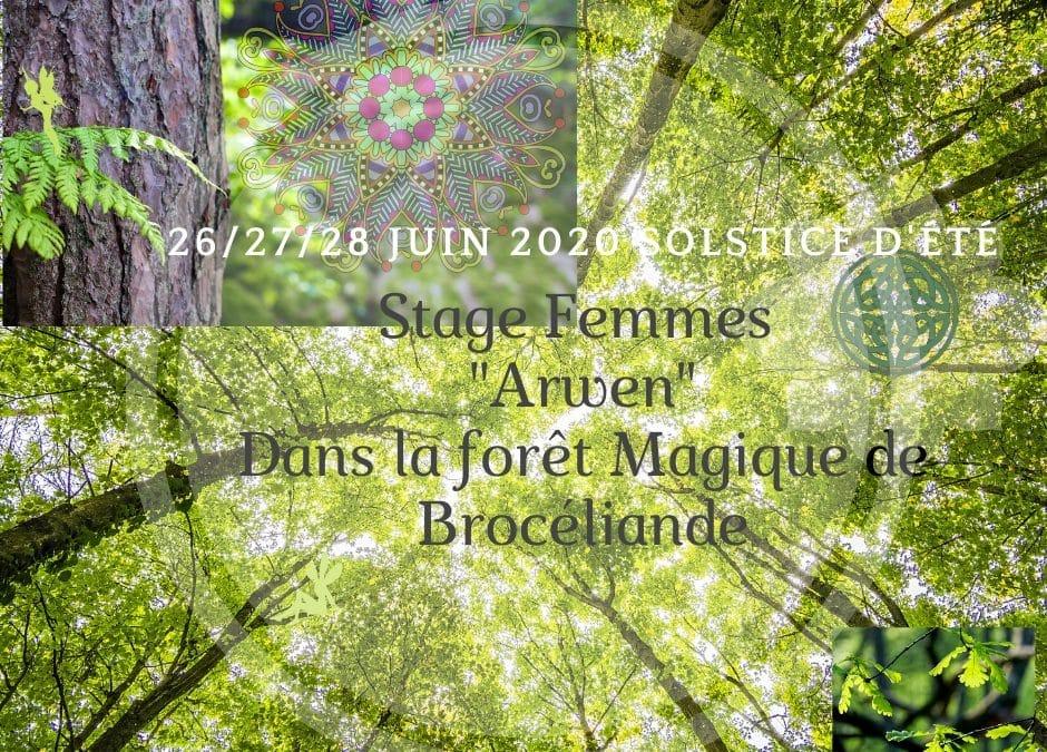 Ouvert à toutes les Femmes /Féminin Sacré Solstice d'été à Brocéliande